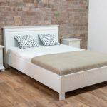 Dormitor alb, lemn masiv