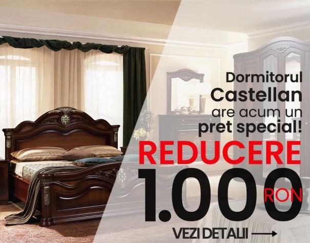 Dormitorul Castellan are acum un pret special!